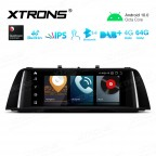 10.25 inch Car Android Multimedia Navigation System with Built-in 4G for BMW 5 Series F10/F11 NBT