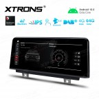 10.25 inch Car Android Multimedia Navigation System with Built-in 4G for BMW 1&2 Series F20/F21/F23 Left Driving Vehicles NBT