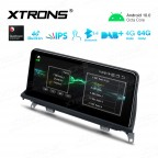 10.25 inch Car Android Multimedia Navigation System with Built-in 4G for BMW X5 E70/X6 E71 CCC