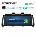 8.8 inch Car Android Multimedia Navigation System with Built-in 4G for BMW X3 F25 X4 F26 NBT