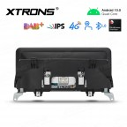 10.25 inch Android Navigation System with Built-in 4G Support Carriers in Asia and Europe for BMW X5 E70 / X6 E71 CIC