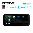 10.25 inch Qualcomm Octa Core 4GB+64GB Car Android Multimedia Navigation System with Built-in 4G Support Carriers in Asia and Europe for Mercedes-Benz A-Class W176 / GLA-Class C117/ GLA-Class X156