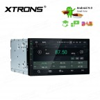 """7""""Android 9.0 car stereo infotainment system Multimedia Navigation System Support car auto play with Full RCA Output"""