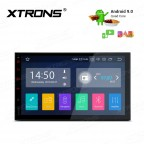 "7"" Android 9.0 car stereo infotainment system Multimedia Navigation System with Full RCA Output"