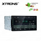 """7""""Android 9.0 car stereo infotainment system Multimedia Navigation System with Full RCA Output"""