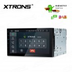 7inch Android 9.0 car stereo infotainment system Multimedia Navigation System with Full RCA Output