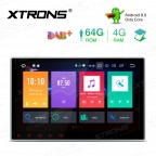 10.1 inch Android 9.0 Octa Core 64GB ROM + 4G RAM Car Multimedia DVD Player with GPS