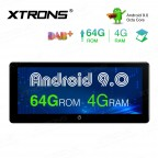 10.25 inch Android 9.0 Octa-Core 64G ROM+4G RAM High Definition Widescreen Car Stereo Multimedia GPS System Support CarAutoPlay