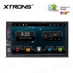 """7"""" Android 7.1 Nougat Quad core 16GB ROM Double Din In Dash Car Stereo Multimedia Navigation System"""