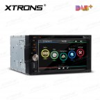 "6.2"" HD Digital Built-in DAB+ Tuner Touch Screen Double Din Car DVD Player"