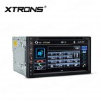 """6.95"""" In-Dash Double Din touch screen Receiver"""