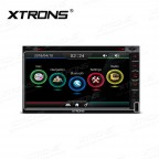"""6.95"""" HD Capacitive Touch Screen Car GPS Double Din DVD Player"""