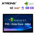 "10.1"" Android 9.0 Octa Core 32GB ROM + 4G RAM Car Multimedia DVD Player with GPS"