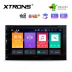 "6.95"" Android 9.0 Octa Core 32GB ROM+4GB RAM Car  Multimedia DVD Player  Support car auto play with GPS"