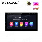 """7"""" Android 8.1 car stereo smart Multimedia player IPS screen with 2.5D curved glasses"""