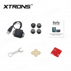 """Car USB TPMS Tire Pressure Monitoring Alarm System for XTRONS Android Units of """"IN"""" Series"""