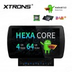 10.1 inch Android 9.0 Hexa-Core 64Bit Processor 4G RAM+64G ROM Anti-Glare Screen Car DVD Player Navigation system with HDMI Output