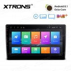 "10.1"" Android 8.1 Octa-Core 16GB ROM + 2GB RAM Rotatable Face Panel 2.5D Curved Screen car DVD player"