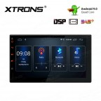 7 inch Android 9.0 Built-in DSP HD Screen Multifunctional Android car stereo with Full RCA Output