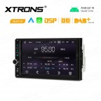 7 inch Android 10 GPS Multimedia Player with Built-in DSP Built-in CarAutoPlay & Android Auto