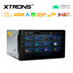 7 inch Android 10 Car GPS Multimedia Player with Built-in CarAutoPlay and Android Auto